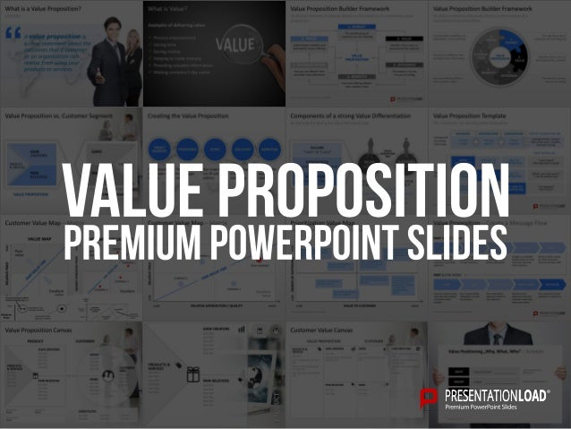 Value proposition powerpoint template toneelgroepblik Image collections