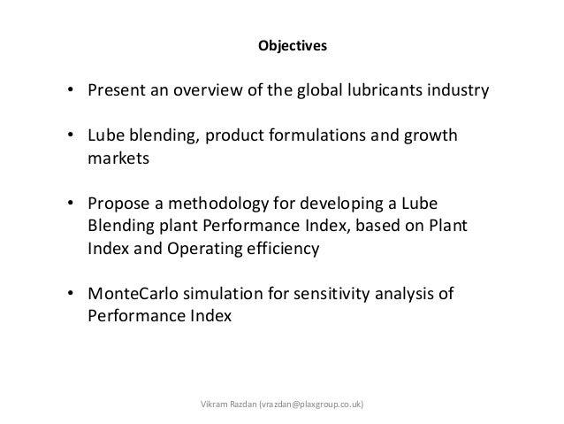Presentation Lube Oil Blending Plant Performance Evaluation Slide 2