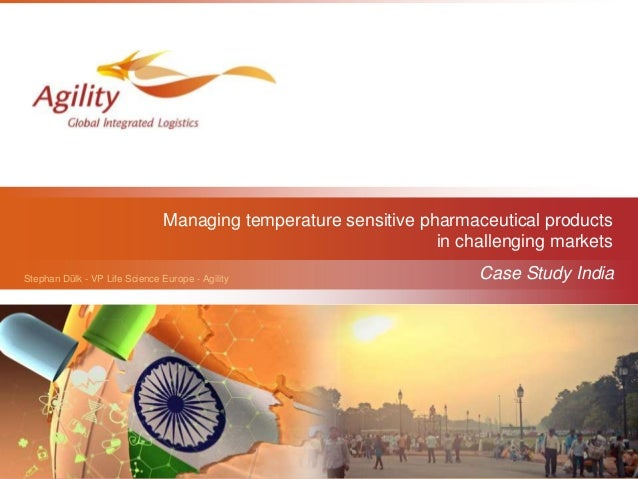 Logipharma 2014 | Agility Logistics | Case study: Innovative