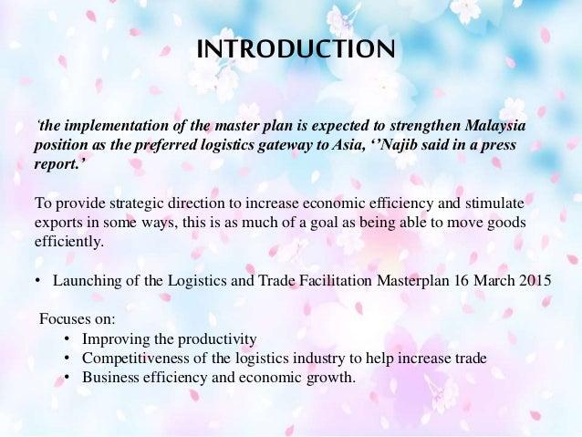 Malaysia logistic masterplan _ logistic