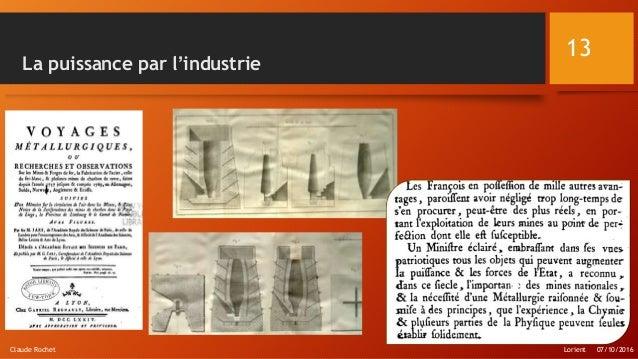 La puissance par l'industrie Lorient 07/10/2016Claude Rochet 13