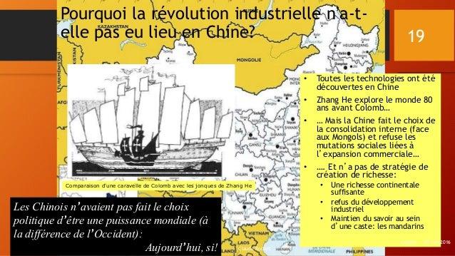 Pourquoi la révolution industrielle n'a-t- elle pas eu lieu en Chine? • Toutes les technologies ont été découvertes en Chi...