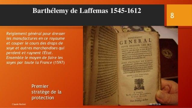 Barthélemy de Laffemas 1545-1612 Reiglement général pour dresser les manufactures en ce royaume et couper le cours des dra...