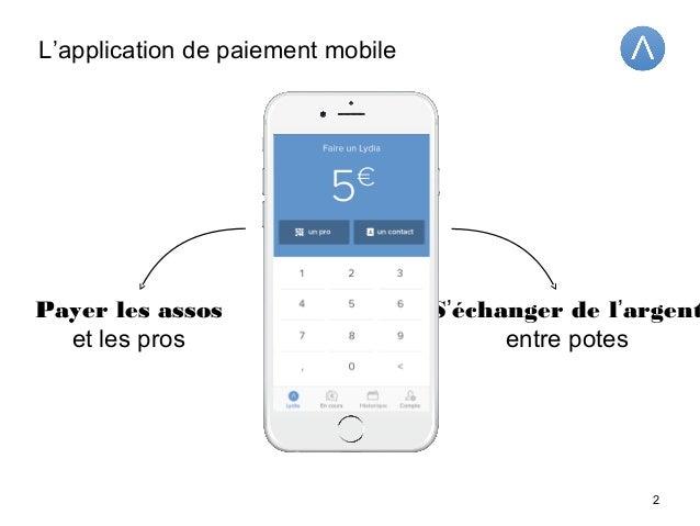 Leader du paiement mobile chez les 18-30 ans Plus de 125 000 utilisateurs en France Partenaire de plus de 100 campus 3