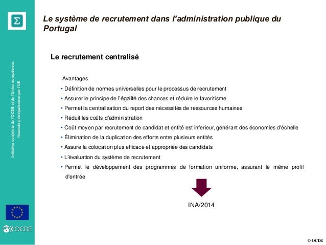 Le syst me de recrutement dans l 39 administration publique du portugal - Systeme centralise definition ...