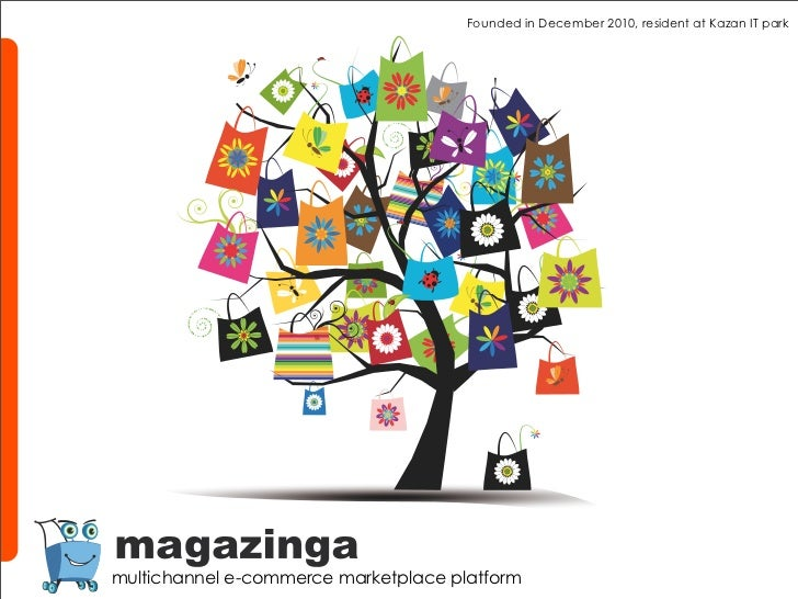 Founded in December 2010, resident at Kazan IT parkmultichannel e-commerce marketplace platform