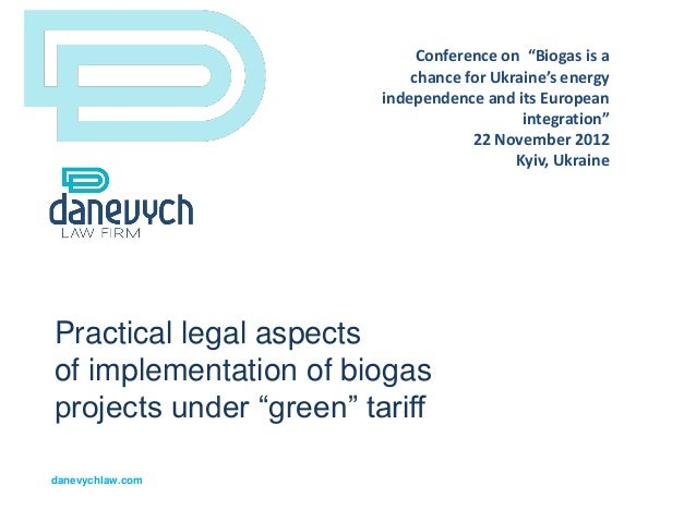 """Conference on """"Biogas is a                             chance for Ukraine's energy                         independence an..."""