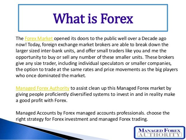 Forex give up