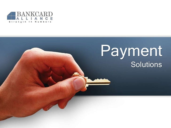 Payment Solutions<br />