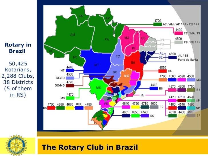 Výsledek obrázku pro brazil districts rotary