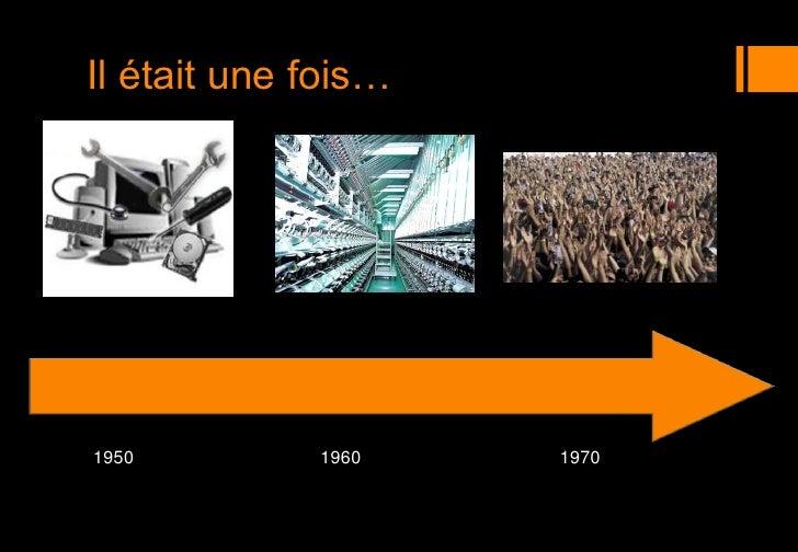 Il était une fois…<br />1950<br />1960<br />1970<br />