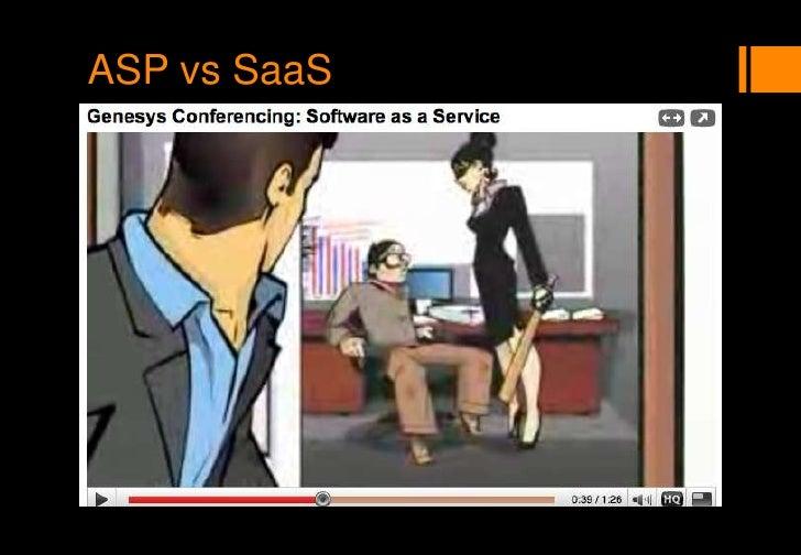 ASP vs SaaS<br />