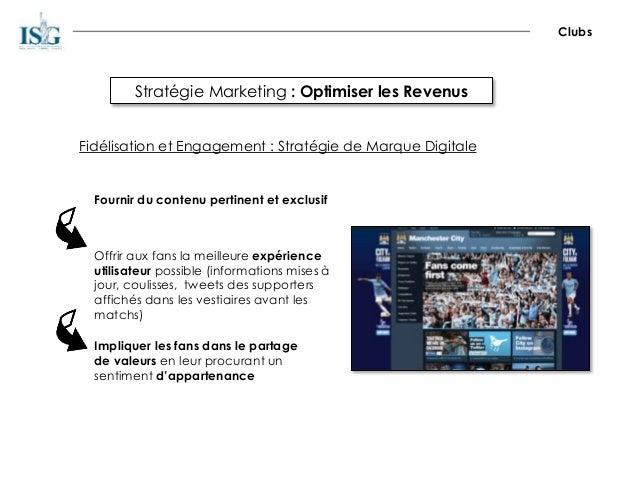 Stratégie Marketing : Optimiser les Revenus Clubs Fidélisation et Engagement : Stratégie de Marque Digitale Fournir du con...