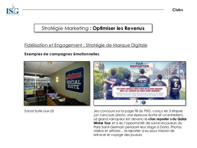 Stratégie Marketing : Optimiser les Revenus Clubs Fidélisation et Engagement : Stratégie de Marque Digitale Exemples de ca...