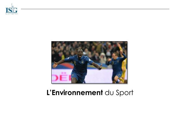L'Environnement du Sport