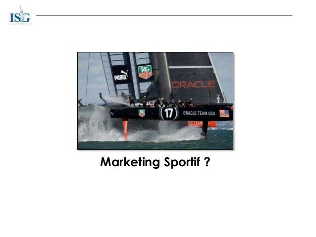Marketing Sportif ?