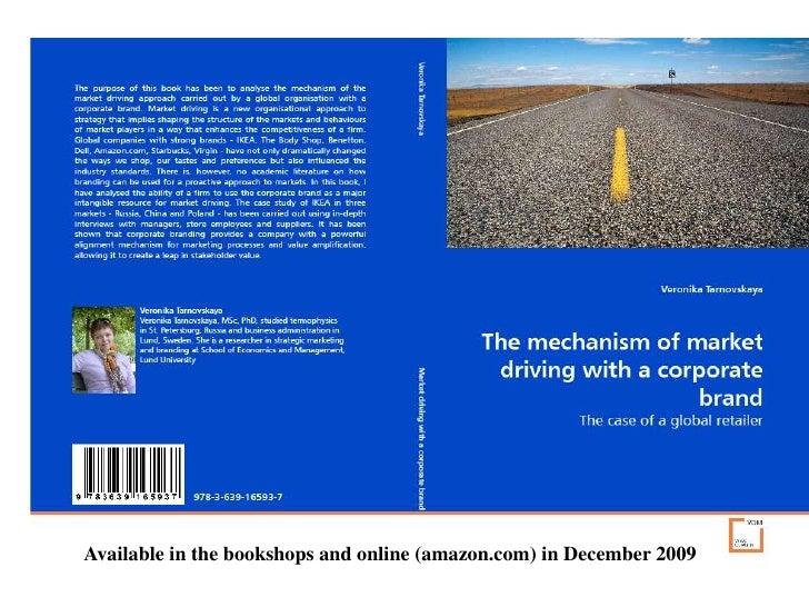 Available in the bookshops and online (amazon.com) in December 2009<br />