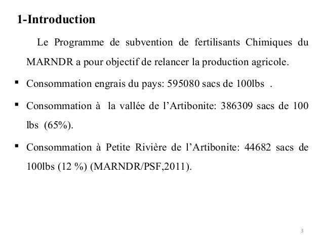 Diagnostic du mode de gestion de la fertilité des sols  Slide 3