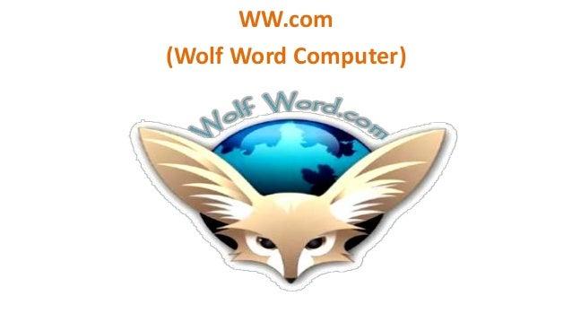 WW.com (Wolf Word Computer)