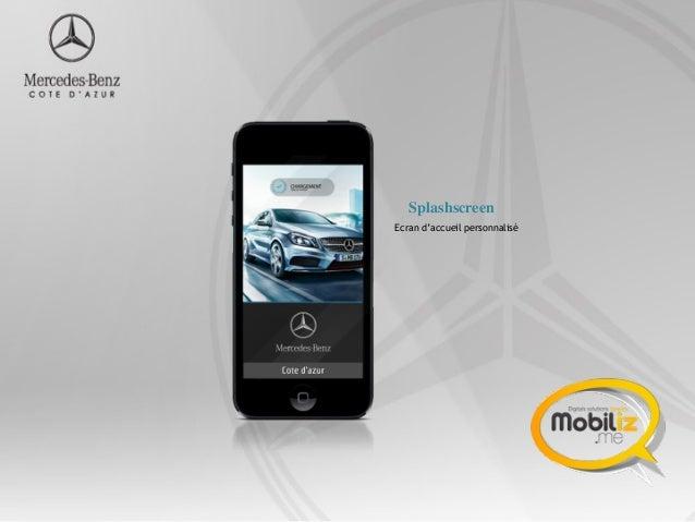 Application mobile mercedes benz c te d 39 azur for Mobile mercedes benz