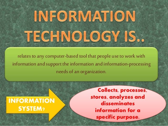 importance of information technology Information technology has many uses in finance from trading financial instruments to keeping records of personal budgets to reporting the earnings of a business, computer technology is used by financial companies daily.