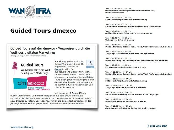 Media Port IFRA Expo                       © 2011 WAN-IFRA