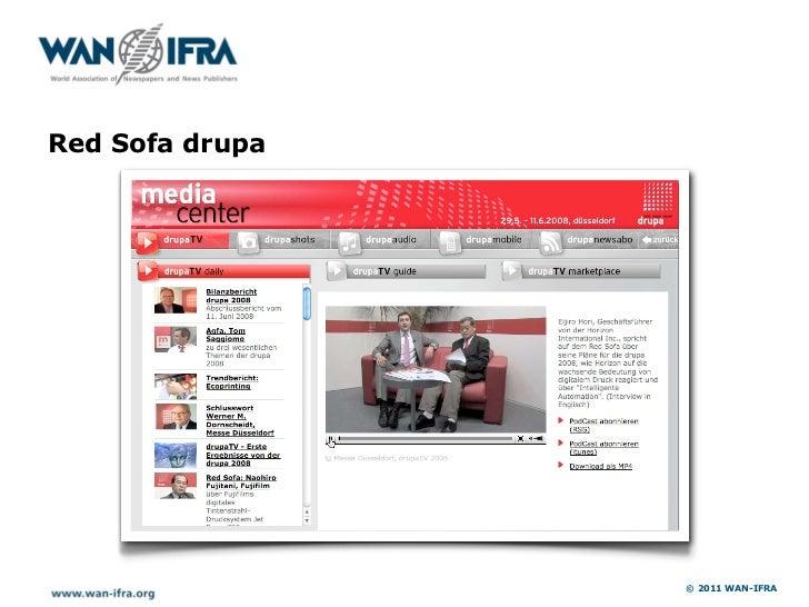 Lead campaigns CeBIT                       © 2011 WAN-IFRA