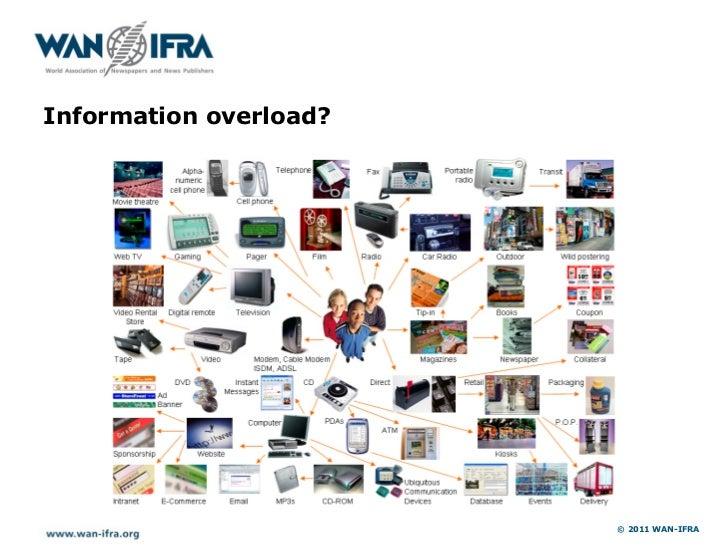 Information overload?                        © 2011 WAN-IFRA