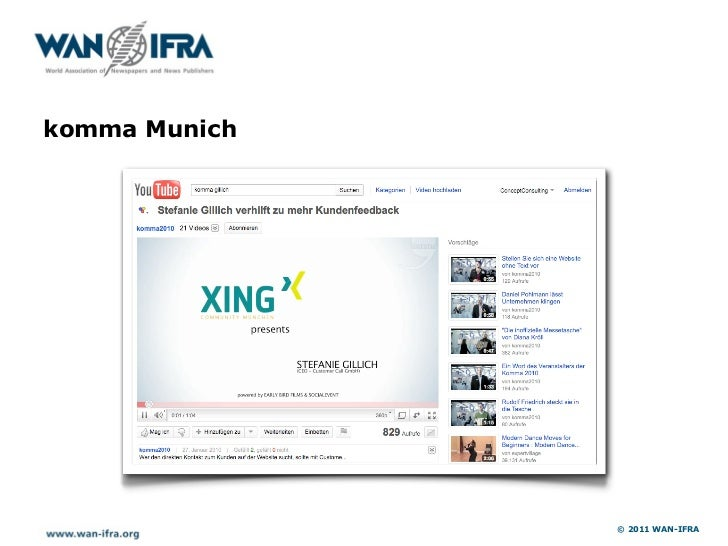 Mailing Service WAN-IFRA                           © 2011 WAN-IFRA