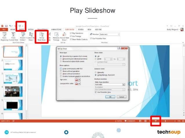 Webinar - Microsoft PowerPoint for Beginners - 2016-06-02