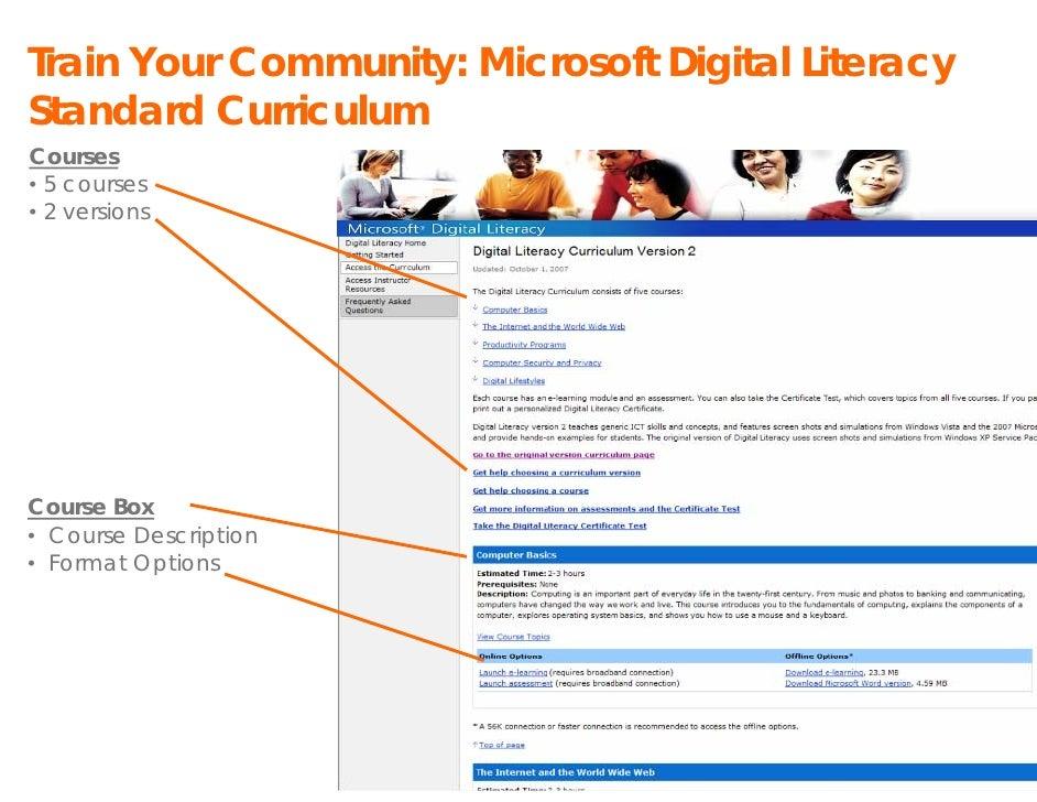 Presentation Microsoft Training