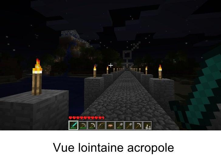 Vue lointaine acropole