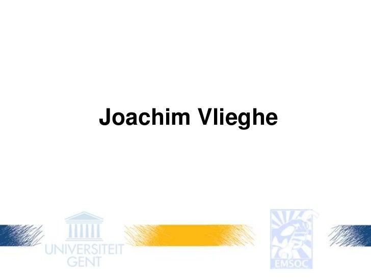 Joachim Vlieghe<br />