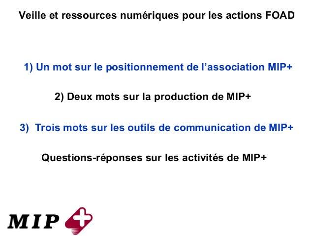 Presentation MIP+ web conf 20140128 Slide 2
