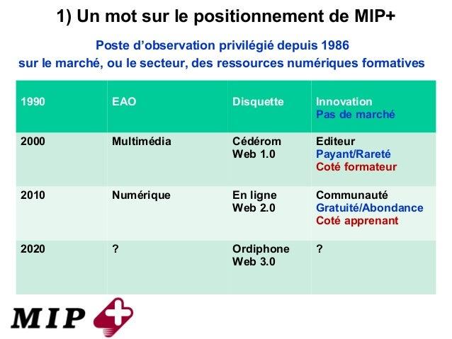 Presentation MIP+ web conf 20140128 Slide 3