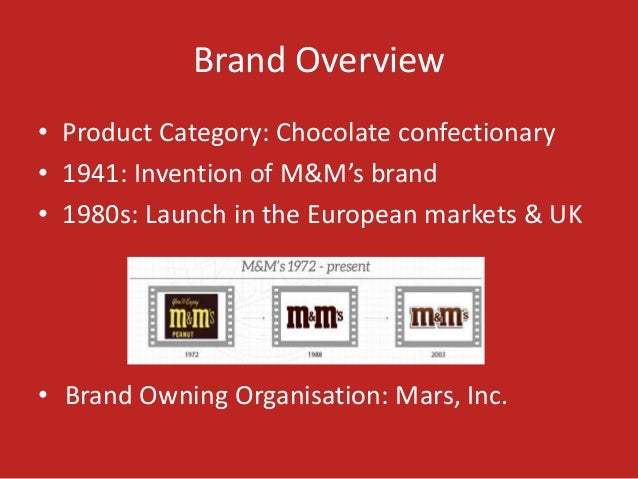 mars candy swot analysis The hershey company was incorporated under the laws of the state of delaware on october 24, 1927 as a  oh henry candy bars reese peanut butter cups candy.
