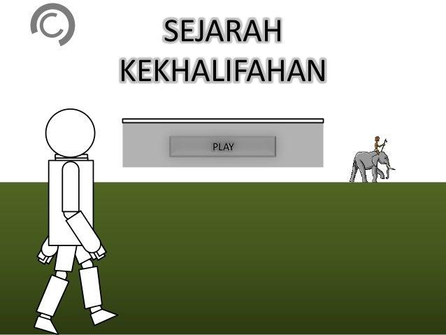 SEJARAHKEKHALIFAHAN     PLAY