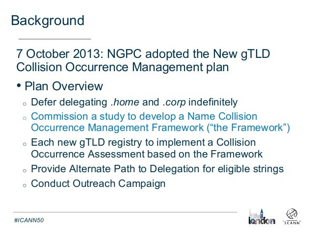ICANN: Invitation: Name Collision Analysis Project (NCAP ...