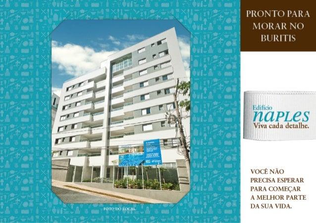 Edifício Naples - Apartamento 4 quartos - 2, 3 ou 4 vagas - Buritis - BH