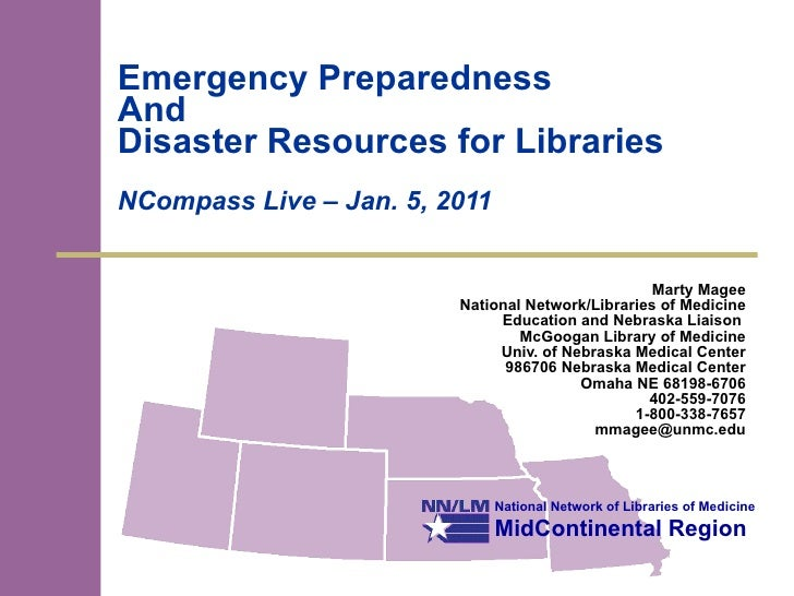 NCompass Live: Emergency Preparedness for Public Libraries