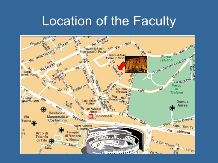 Location of the Faculty