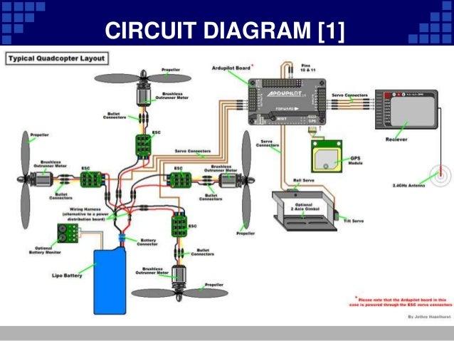 quadcopter presentation rh slideshare net Circuit Drawing LED Circuit