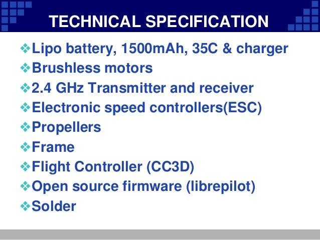 Quadcopter Presentation on Quadcopter Circuit Diagram