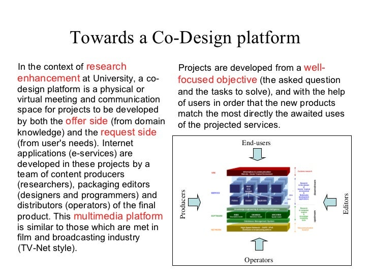 <ul><ul><li>Projects are developed from a  well-focused   objective  (the asked question and the tasks to solve), and with...