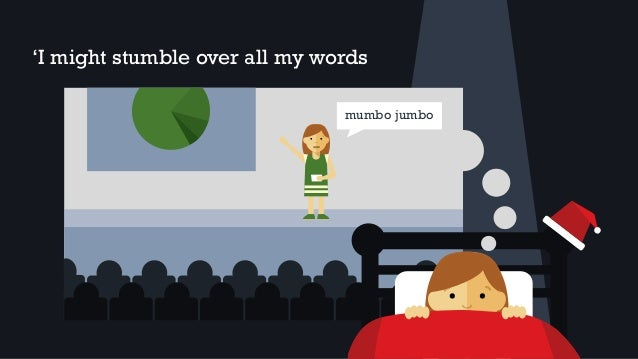 'I might stumble over all my words mumbo jumbo