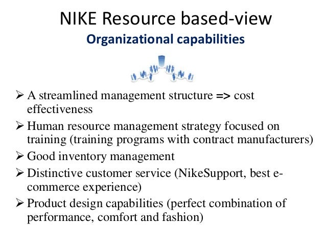 nike management structure