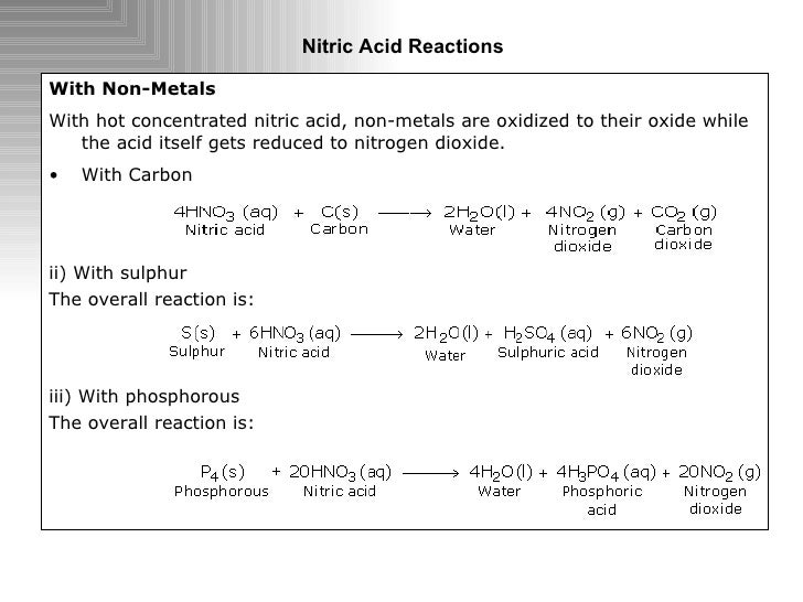tin and nitric acid This article focuses on the action of acids such as nitric acid, chromic acid, hydrochloric acid, sulfuric acid, phosphoric acid, hydrofluoric acid, sulfurous acid and other inorganic acids on titanium.