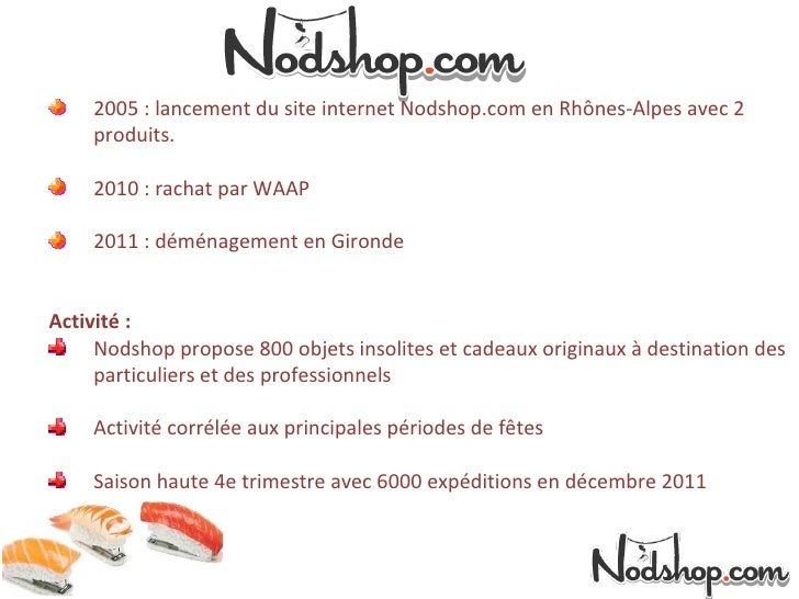 Témoignage  ecommerçant Nodshop Slide 2