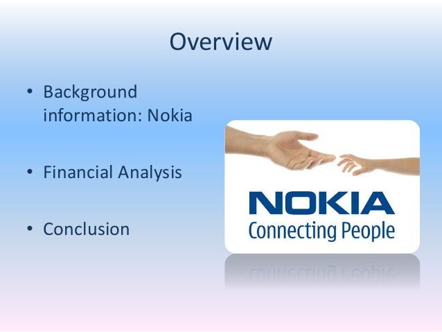 a financial analysis of the companies motorola and nokia Financial analysis of nokia and motorolla uploaded by ali shan this project is about conducting comparative financial analysis of nokia and motorola, it starts with an introduction about the two companies and the information on telecommunication industr.