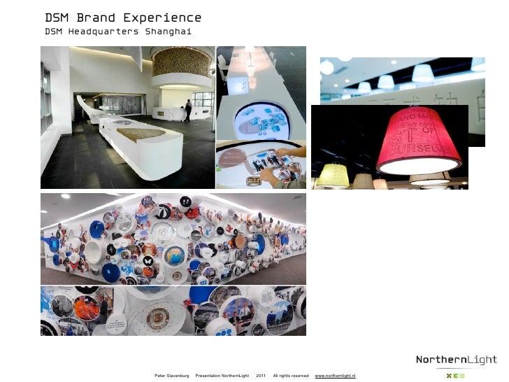 DSM Brand ExperienceDSM Headquarters Shanghai                  Peter Slavenburg   Presentation NorthernLight   2011   All ...